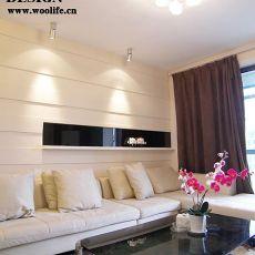 客厅沙发置物柜装饰效果图