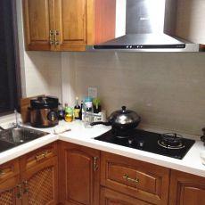 精选面积102平欧式三居厨房装修实景图片