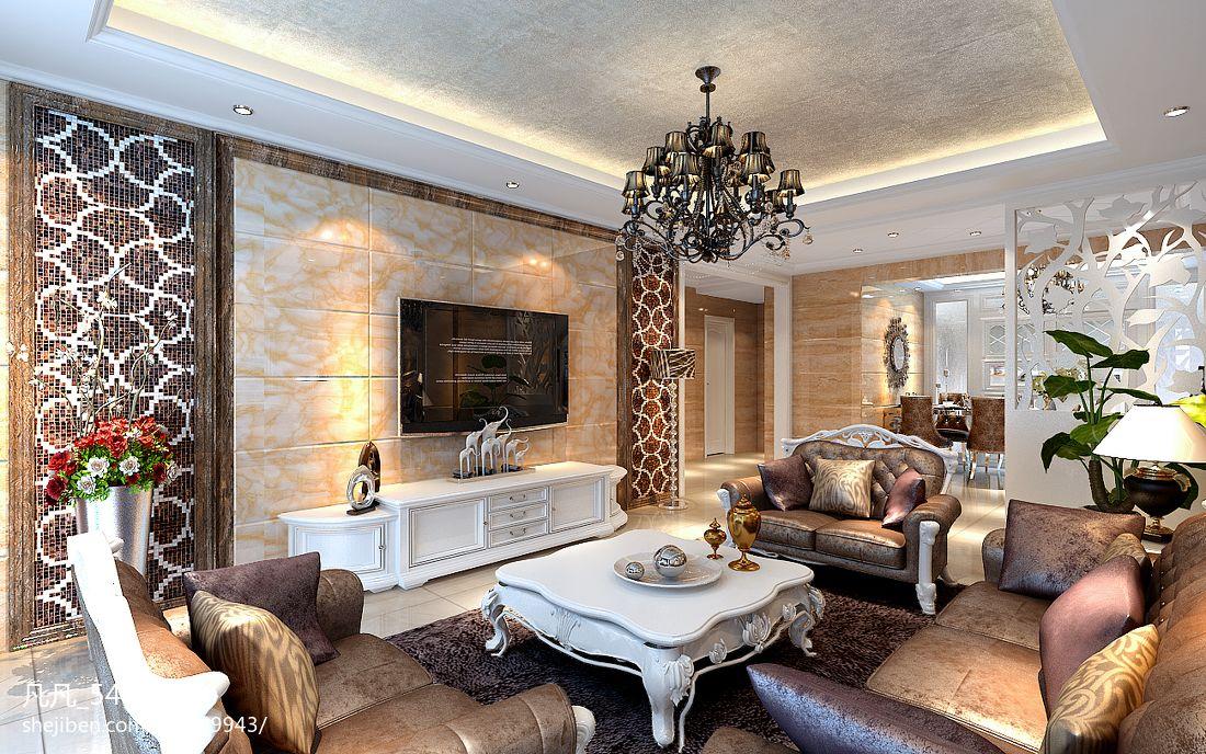 现代明亮客厅装修设计