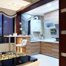 107平米三居厨房混搭装修图片