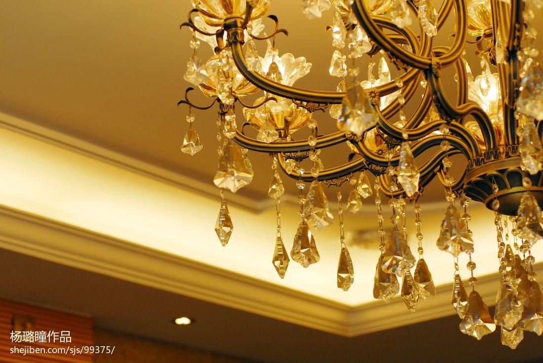 欧式餐厅家装设计效果图