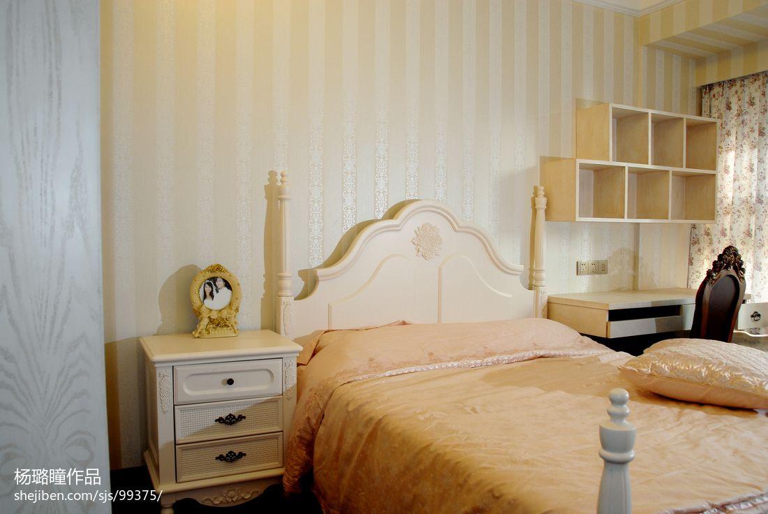 欧式复式设计卧室图片大全