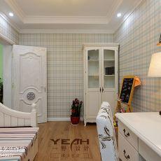 精选面积101平混搭三居书房装修实景图片
