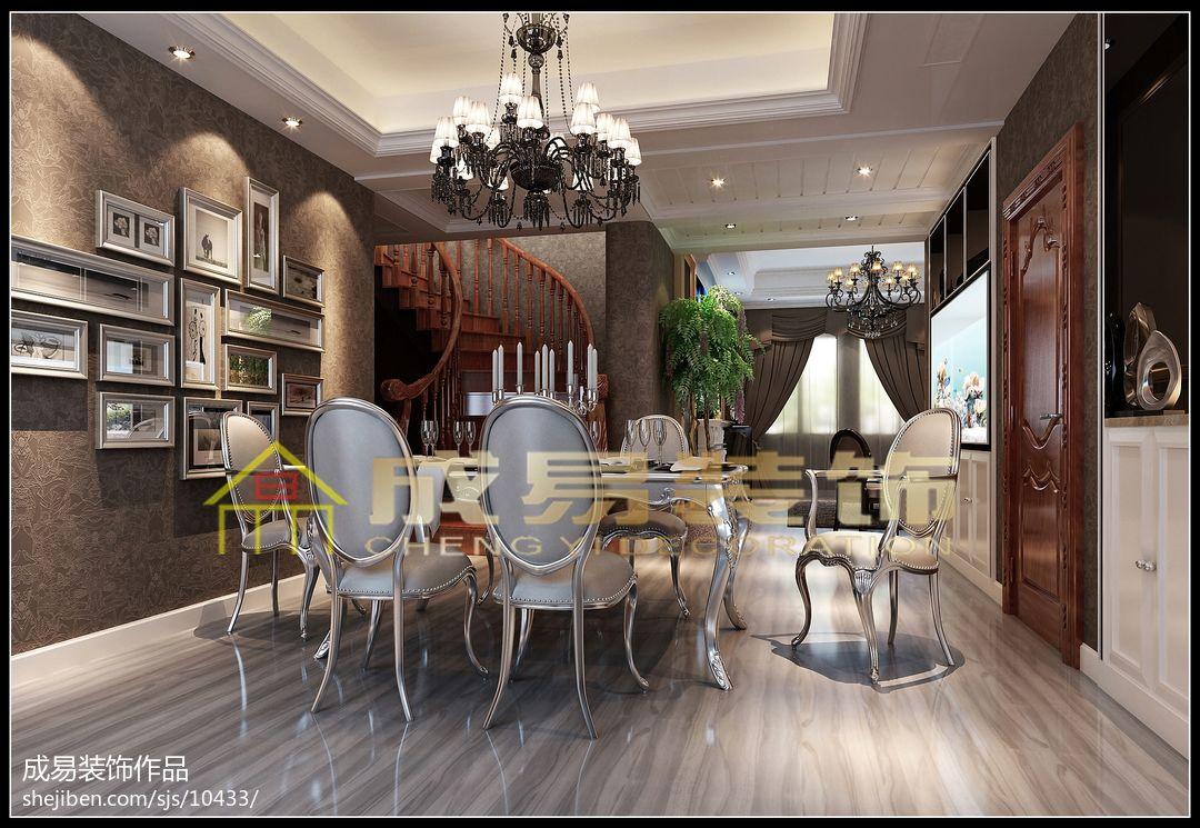豪华地中海风格书房设计
