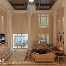 精美大小93平现代三居客厅装饰图片大全