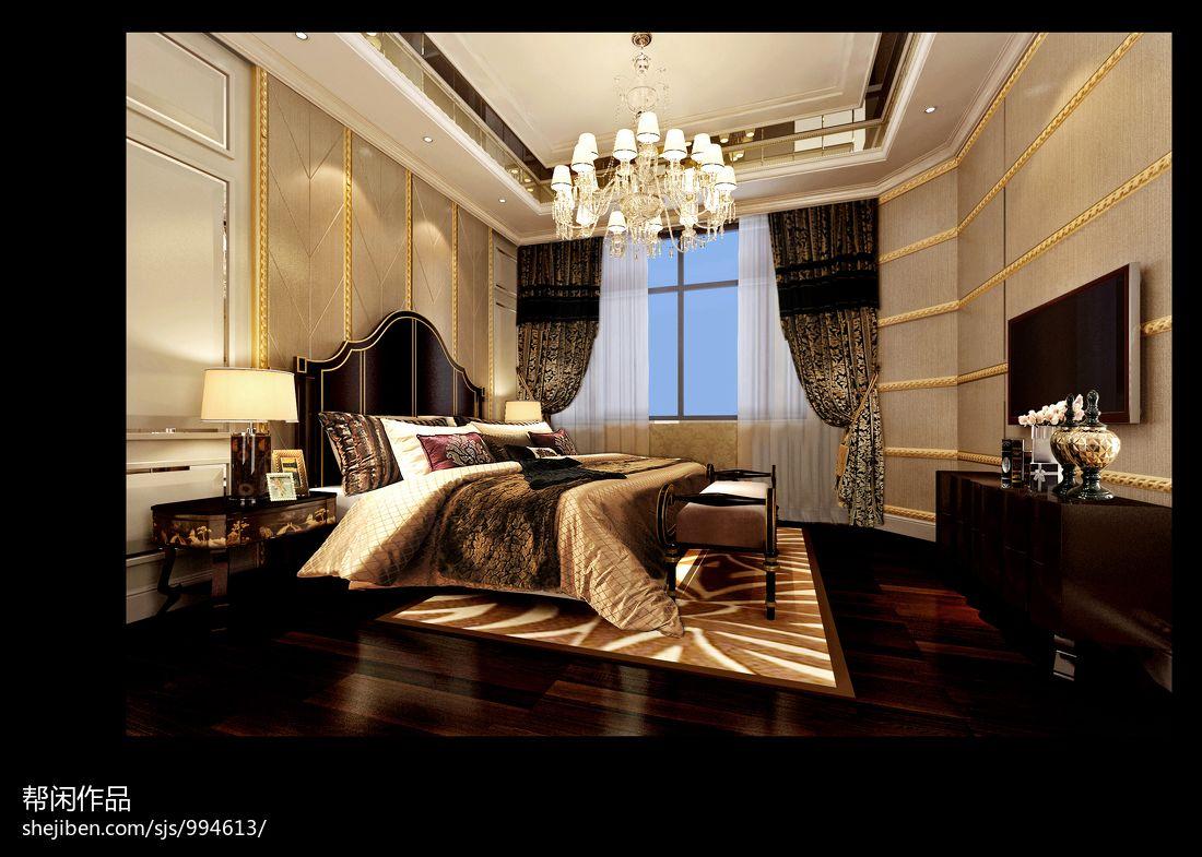 绿色清新田园卧室装饰