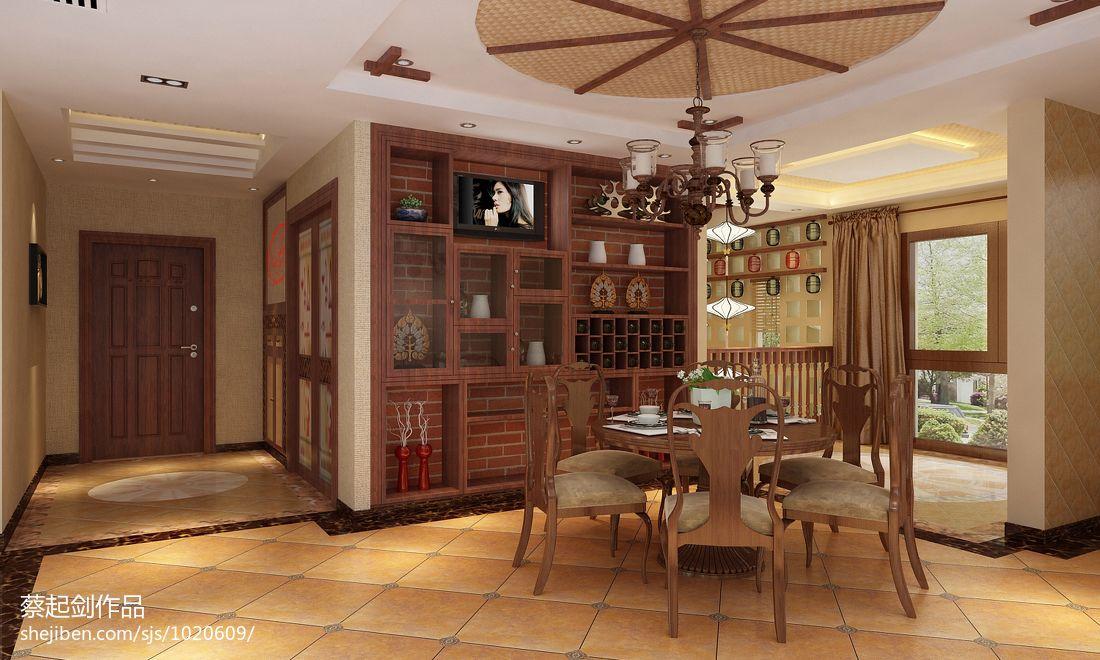 精选125平米混搭复式餐厅装修欣赏图片