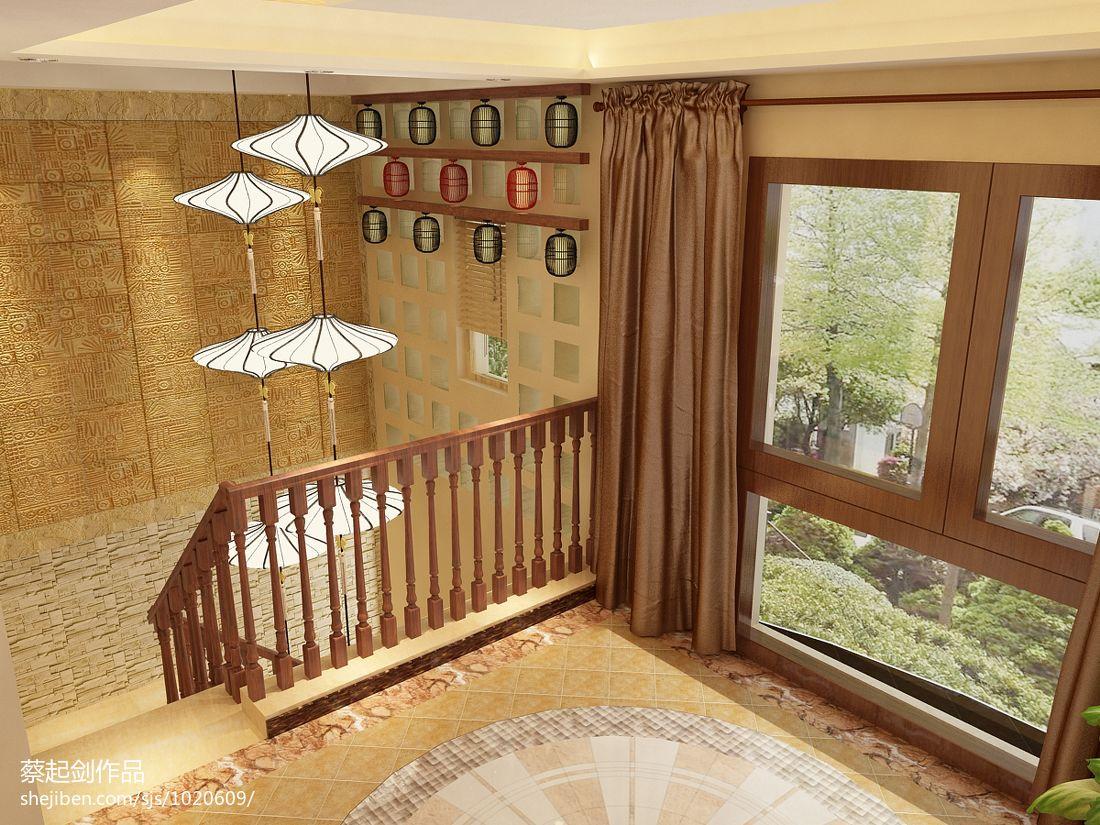 东南亚楼梯效果图片