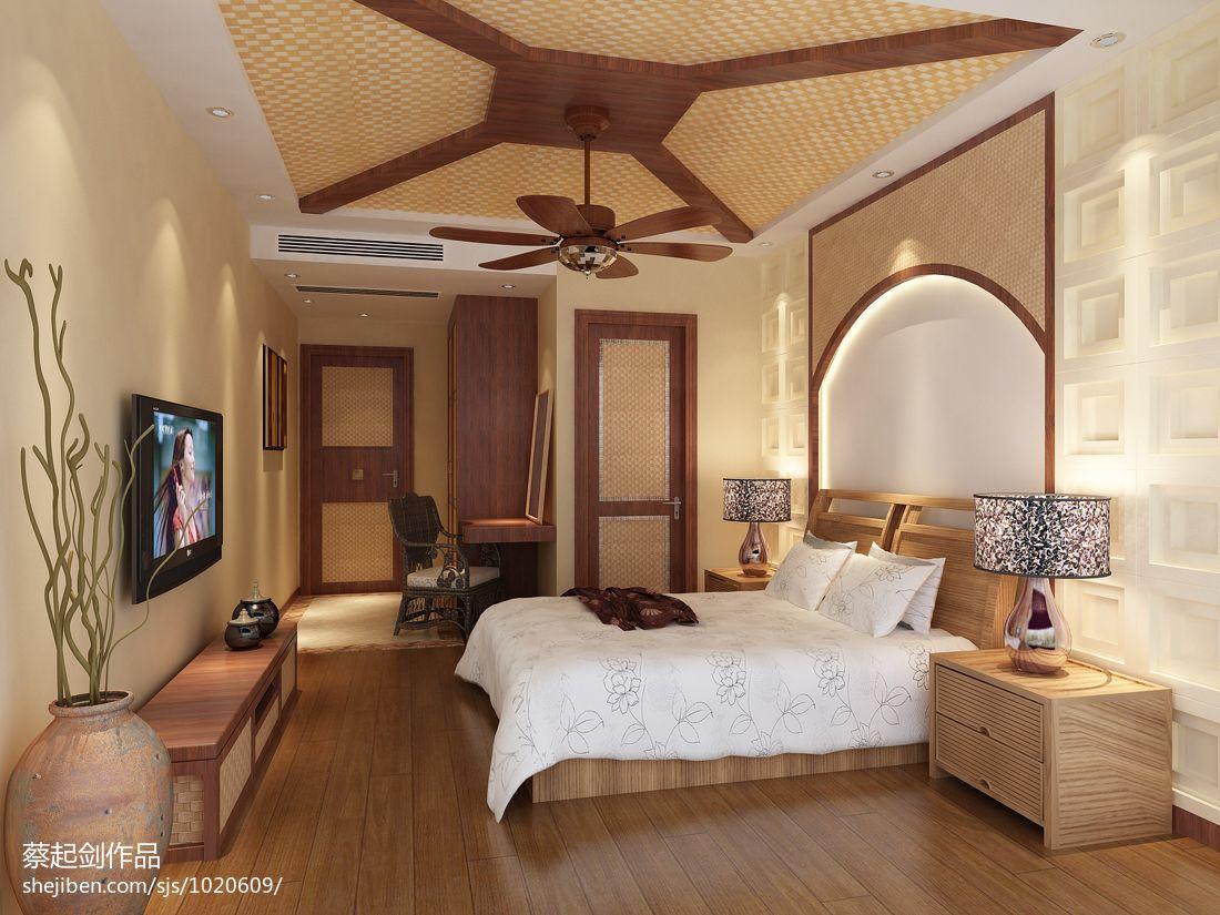精美131平米混搭复式卧室装修效果图片大全