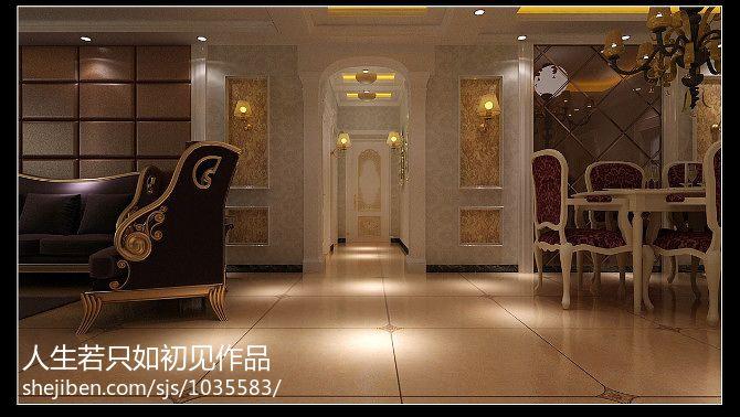 中式客厅装修实景图