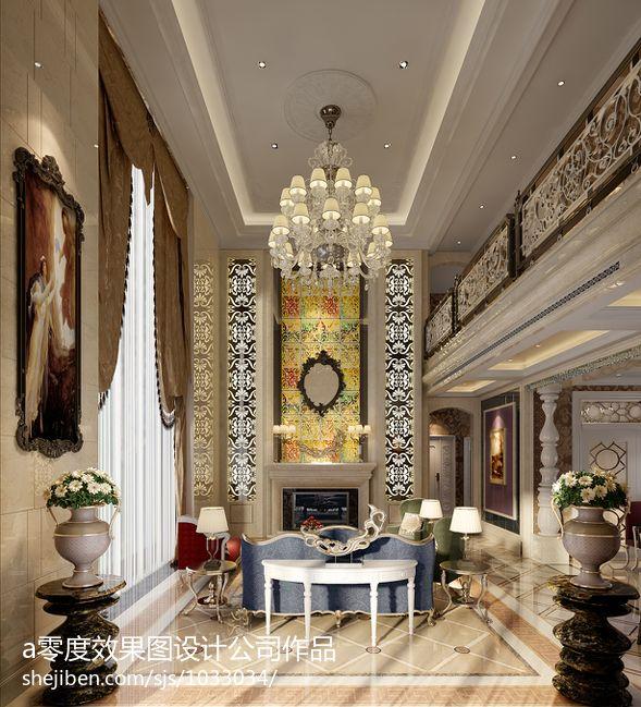 休闲度假风中式客厅设计