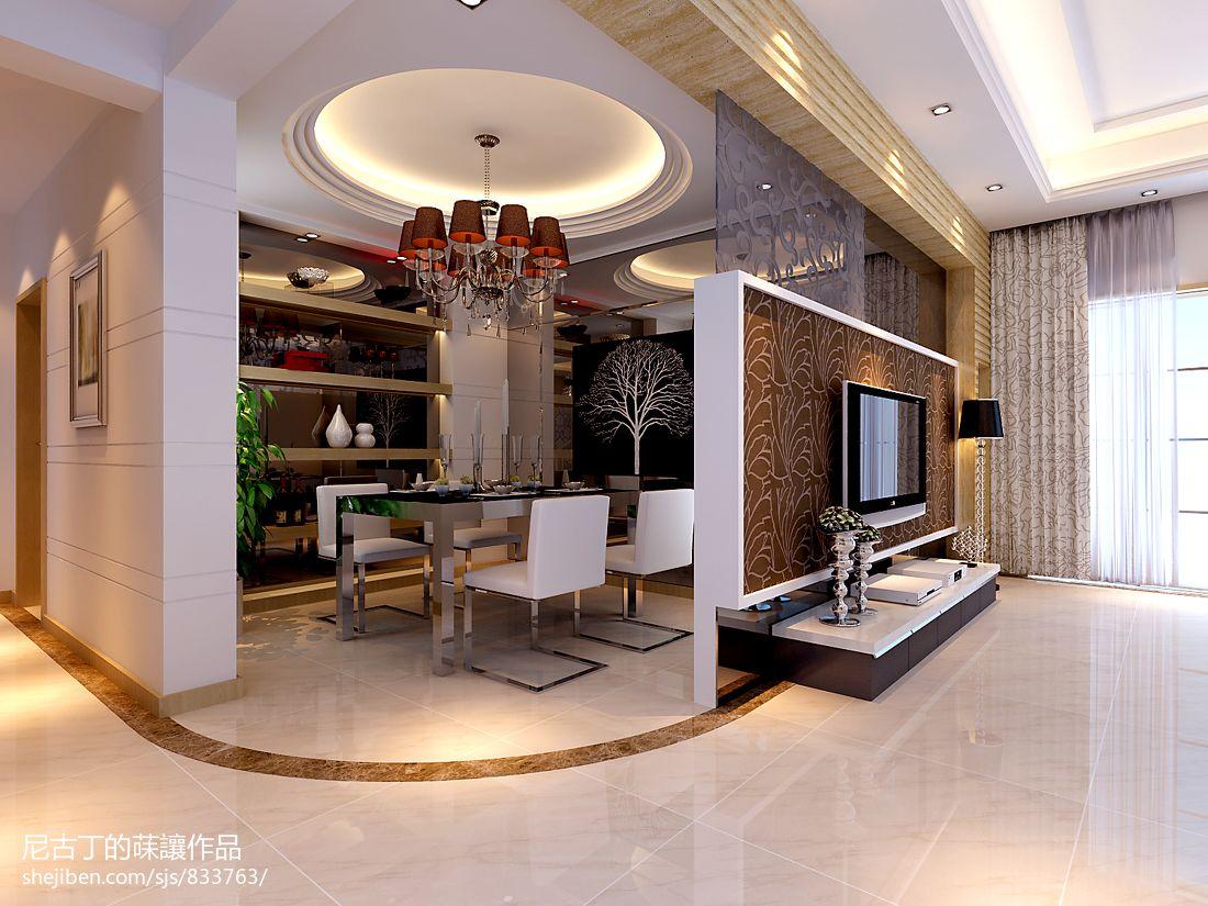 简欧现代别墅室内设计装修效果图