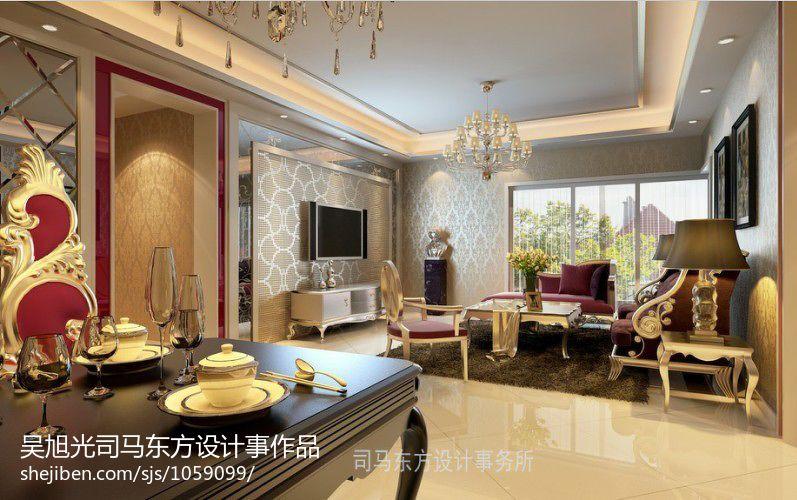 现代公寓室内置物柜设计图片