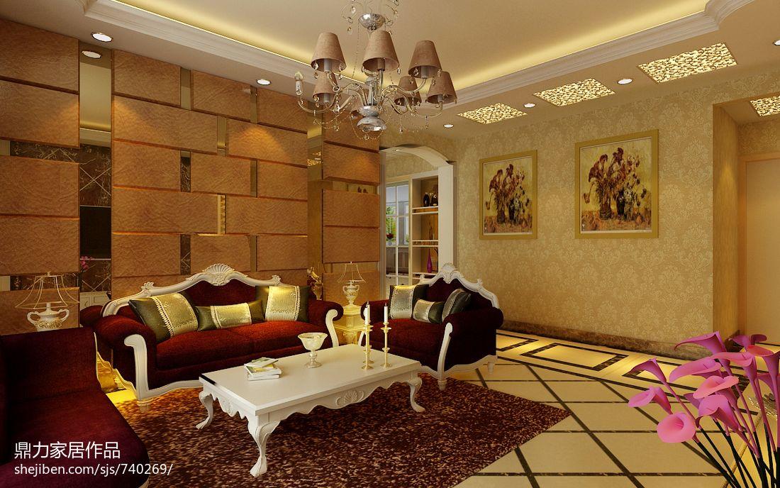 豪华美式风格卧室计效果图