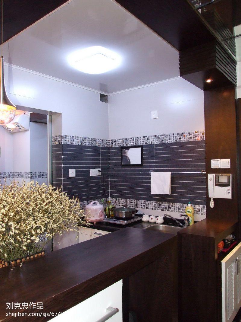 45平米小户型小厨房装修图