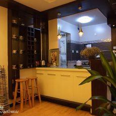 面积80平小户型餐厅混搭装修效果图片