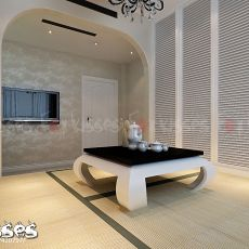 东南亚风格室内厨房设计案例图片