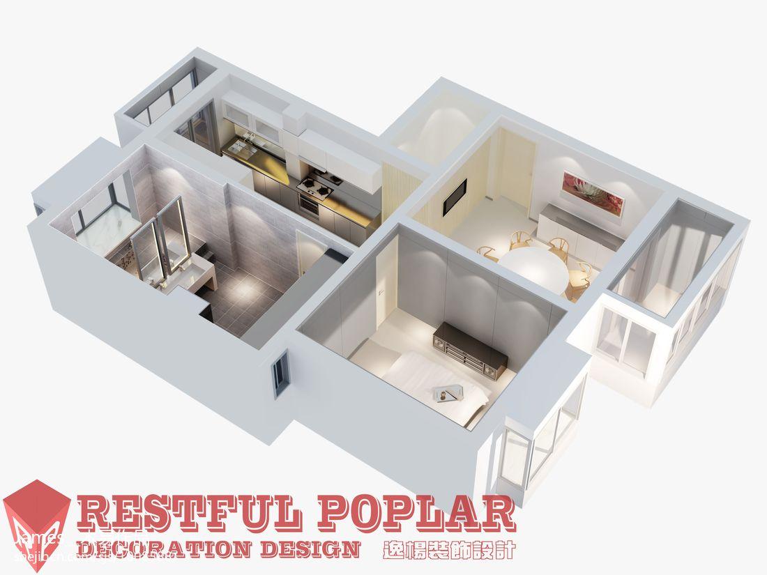 北欧家装10平米客厅效果图