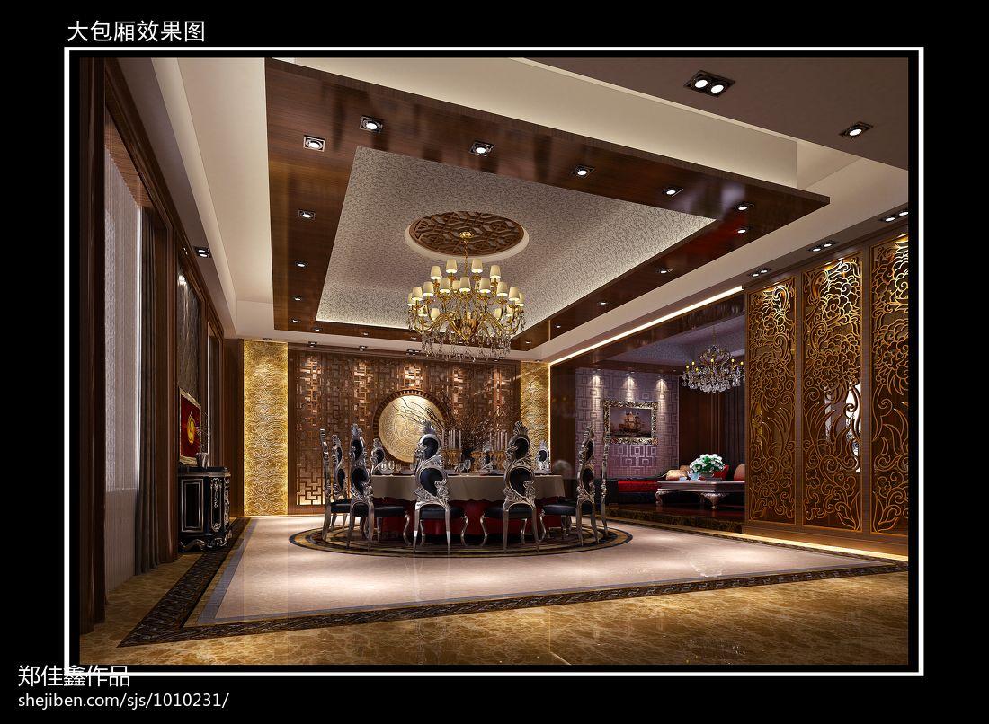 东南亚风格设计室内客厅效果图