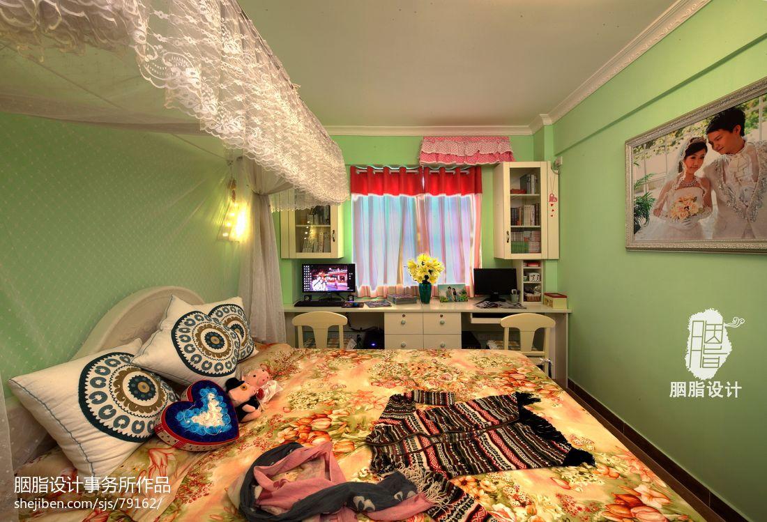 热门面积85平混搭二居装修欣赏图片