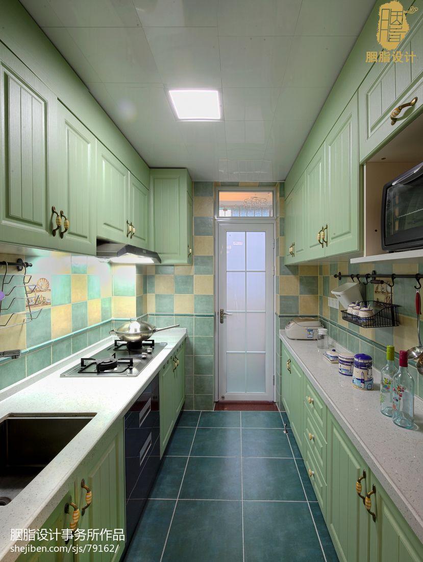 精美二居厨房混搭设计效果图