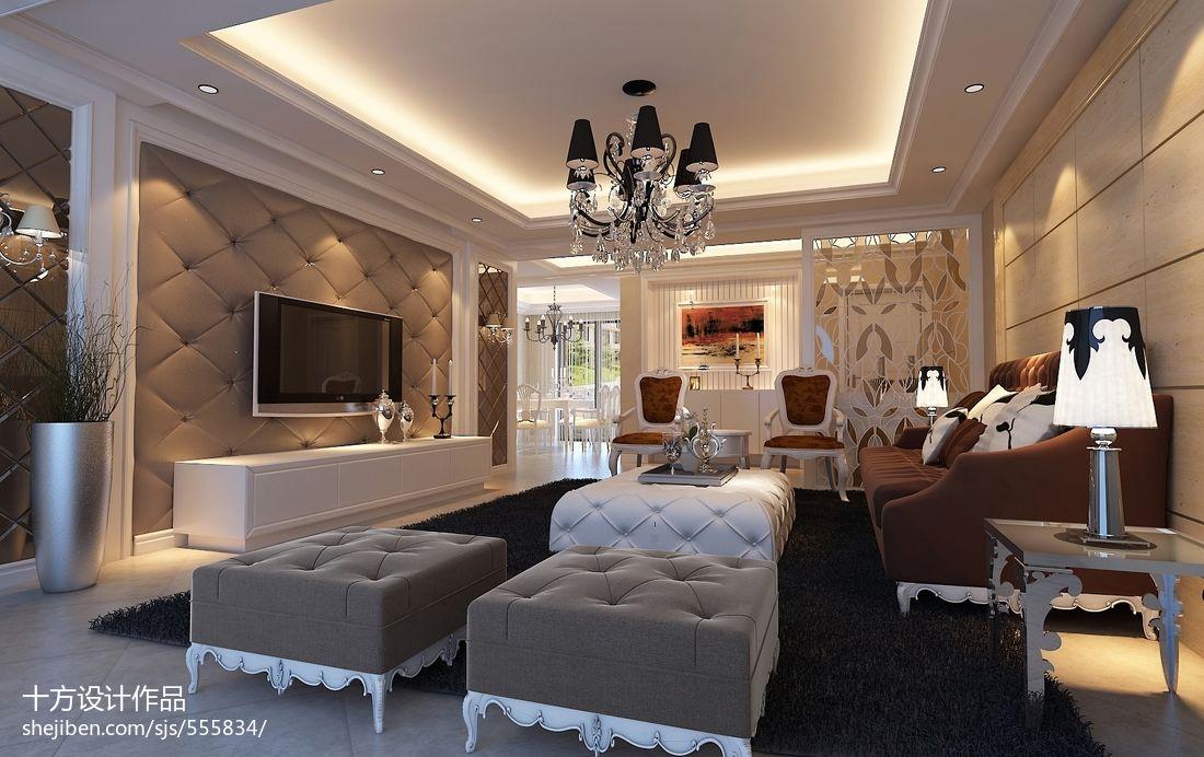 最新欧式简装卧室图片