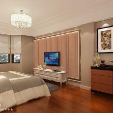 精选115平米欧式别墅卧室装修效果图片