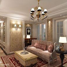 欧式休闲区灯饰装修设计图片