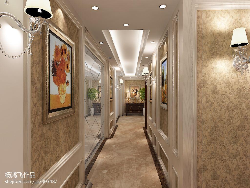 欧式过道壁灯装修设计图片
