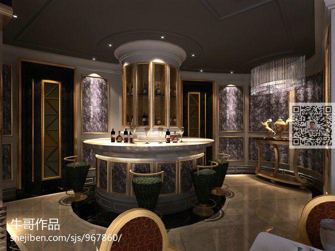 现代风时尚感餐厅图片