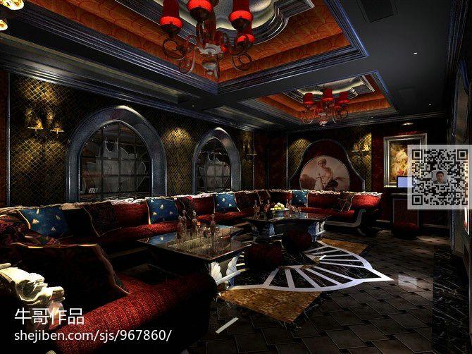 现代风时尚感客厅图片