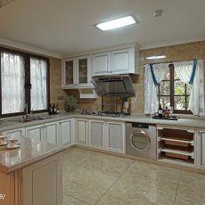 精美132平米混搭别墅厨房装修欣赏图片大全