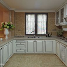 精美120平米混搭别墅厨房效果图