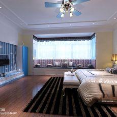 热门101平米三居卧室混搭装修设计效果图片欣赏