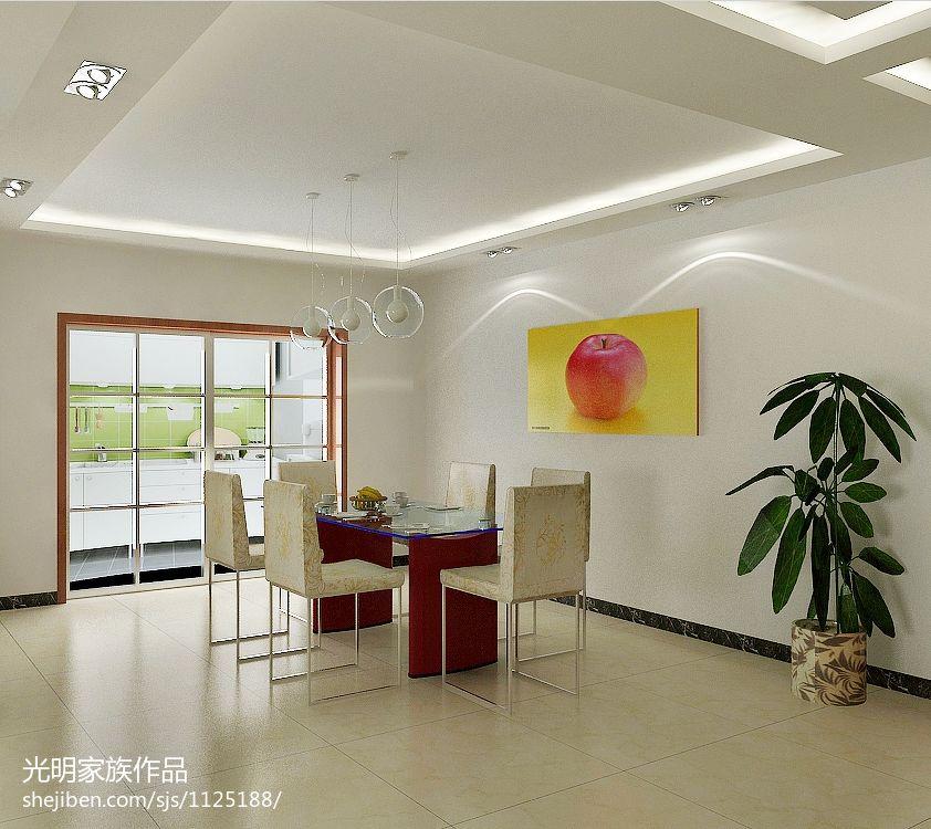 欧式田园卧室床头方格背景墙设计