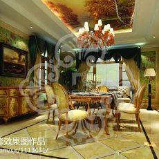 新中式家用书房装修设计