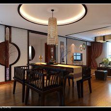 138平方混搭别墅餐厅设计效果图