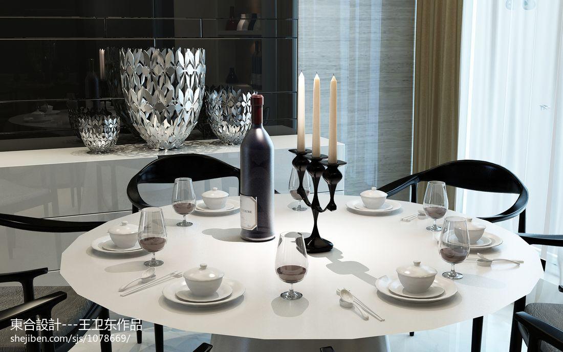 现代简约厨房室内设计效果图片