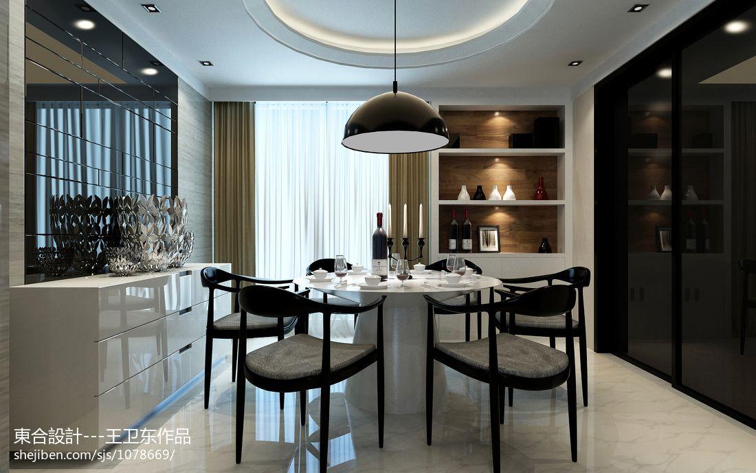 现代家居餐厅装饰设计效果图片