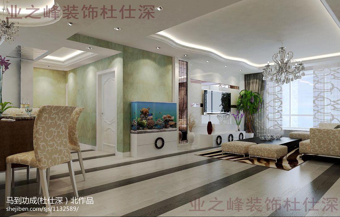 现代风格房屋装修设计客厅图欣赏
