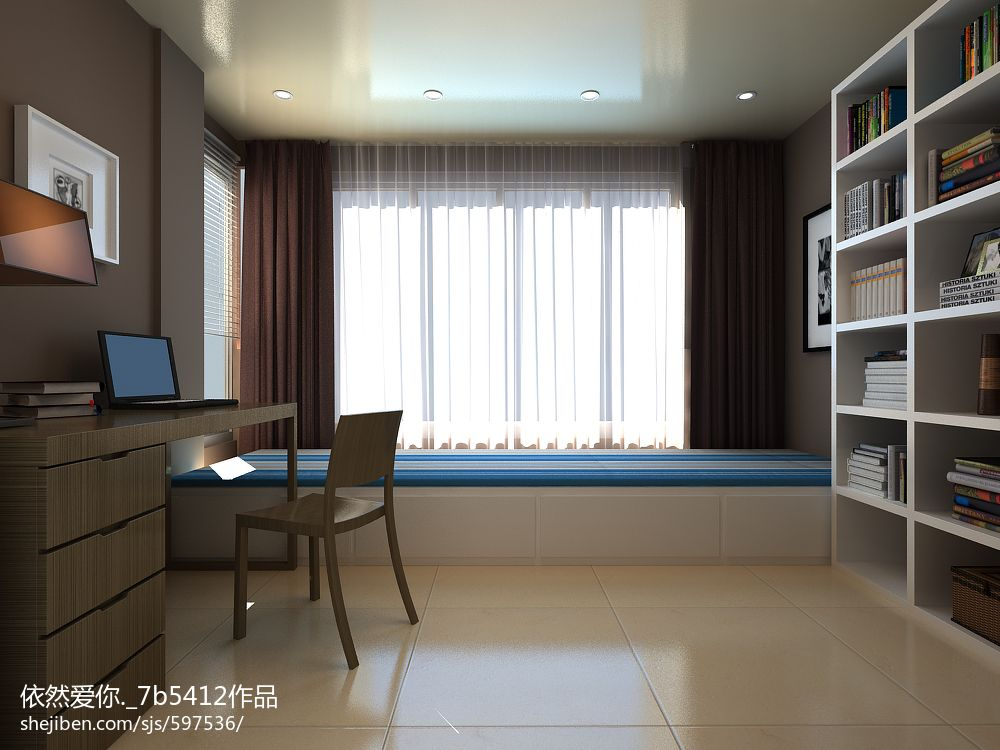 现代家装客厅电视背景墙装修设计效果图大全