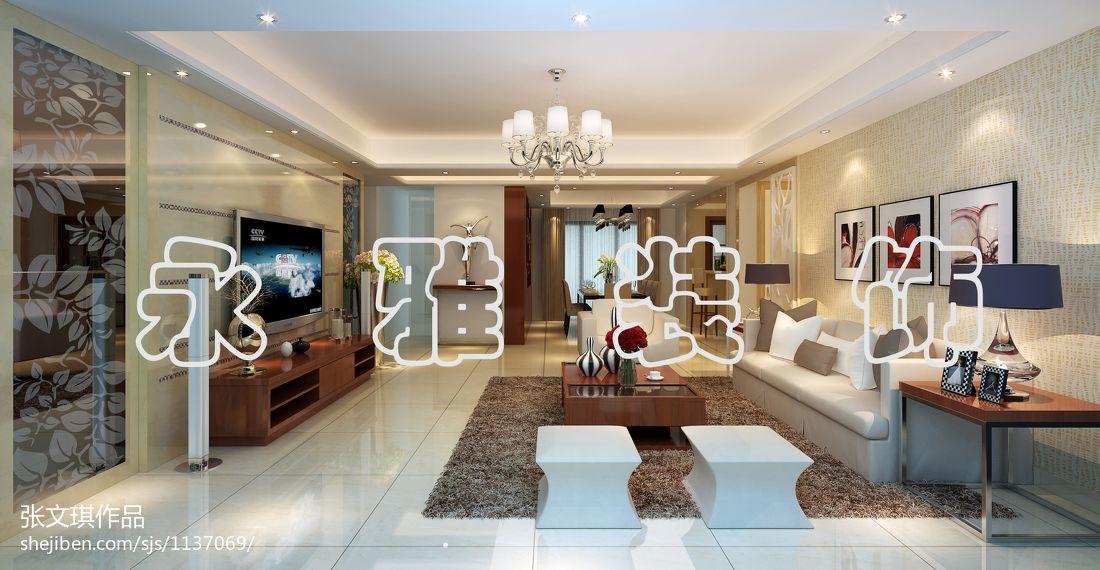 极简风格设计公寓客厅装修图片