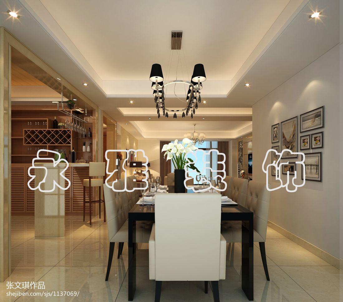 极简风格设计餐厅室内装修图片