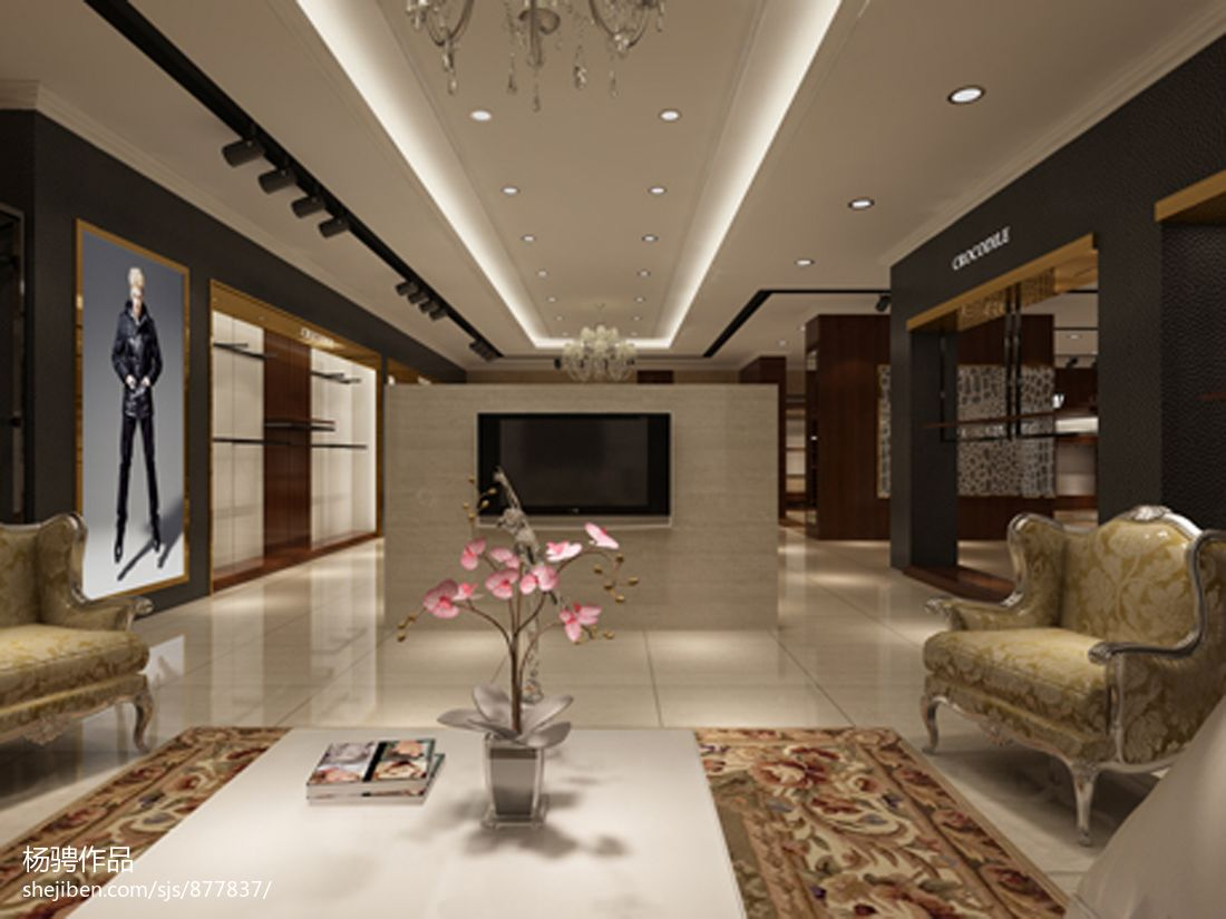 热门现代一居设计效果图