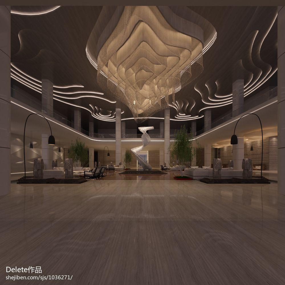 现代风雅致精美餐厅图