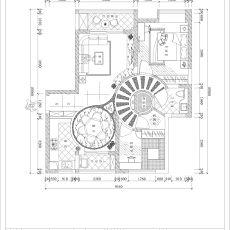 美式书房装潢图片