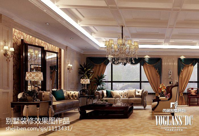 现代装修风格客厅装饰