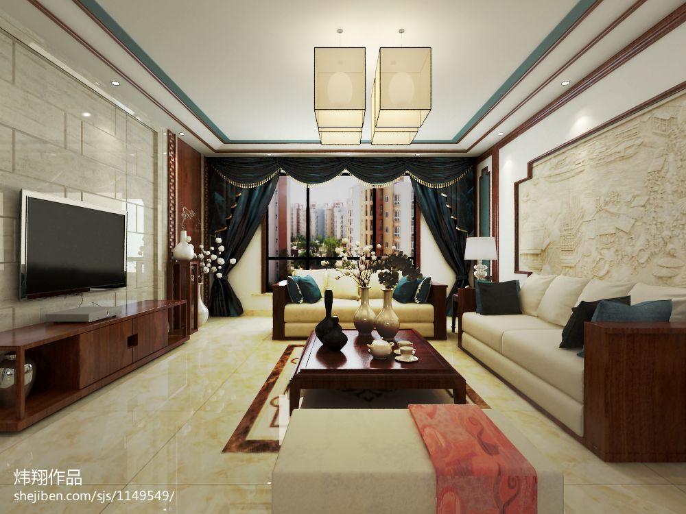 时尚美式卧室布置