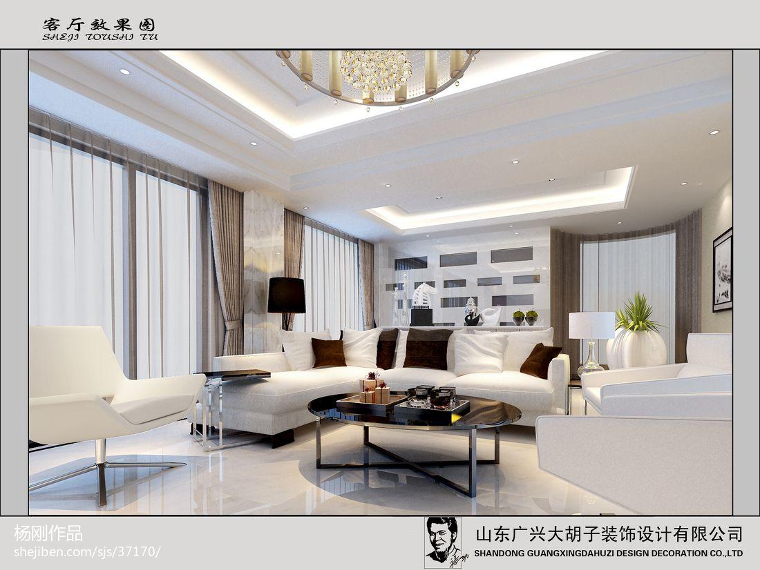 温暖时尚现代化卧室装修效果图