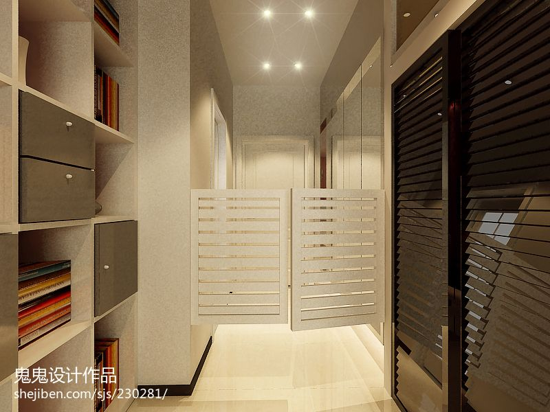 36平米经典小户型玄关设计